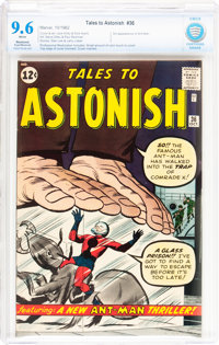 Tales to Astonish #36 Trimmed/Married (Marvel, 1962) CBCS Restored NM+ 9.6 Slight to Moderate (Professional) White pages...