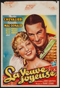 """Movie Posters:Musical, The Merry Widow (MGM, R-1940s). Belgian Poster (11"""" X 16.5""""). Musical.. ..."""