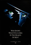 "Movie Posters:Adventure, The Shadow (Universal, 1994). One Sheet (26.75"" X 39.75"") SS Advance. Adventure.. ..."