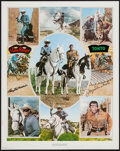 """Movie Posters:Western, The Lone Ranger Print (Nostalgia Merchant, 1977). Signed Print (24"""" X 30""""). Western.. ..."""