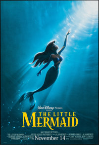 "The Little Mermaid (Buena Vista, R-1997). One Sheet (27"" X 40""), DS Advance. Animation"