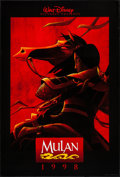 """Movie Posters:Animation, Mulan & Other Lot (Buena Vista, 1998). One Sheets (2) (27"""" X40"""" & 27"""" X 41"""") DS Advance & SS Regular. Animation.. ...(Total: 2 Items)"""
