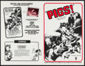 "Movie Posters:Horror, Pigs! & Other Lot (Classic Films, 1972). Uncut Pressbooks (2) (Multiple Pages, 11"" X 17""). Horror.. ... (Total: 2 Items)"