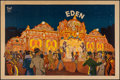 "Movie Posters:Musical, Eden Palais Carousel (1920s). Poster (31.5"" X 47.25""). Musical....."