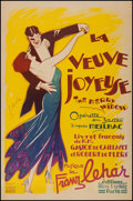 """Movie Posters:Musical, The Merry Widow (1936). French Opera Poster (30.75"""" X 47""""). Musical.. ..."""