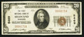 National Bank Notes:Wisconsin, Shawano, WI - $20 1929 Ty. 1 The First NB Ch. # 5469. ...