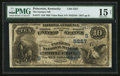 National Bank Notes:Kentucky, Princeton, KY - $10 1882 Value Back Fr. 577 The Farmers NB Ch. #(S)5257. ...