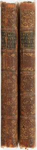 Books:Literature Pre-1900, [Horace Walpole, Earl of Orford] A Catalogue of the Royal andNoble Authors of England, With Lists of their Works. S...(Total: 2 Items)
