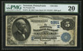 National Bank Notes:Pennsylvania, Tarentum, PA - $5 1882 Value Back Fr. 574 The Peoples NB Ch. #(E)5351. ...