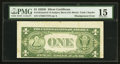 Error Notes:Skewed Reverse Printing, Fr. 1613n $1 1935D Silver Certificate. PMG Choice Fine 15.. ...