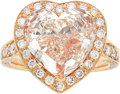Estate Jewelry:Rings, Fancy Light Pink Diamond, Diamond, Pink Gold Ring, Chopard. ...