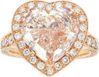 Fancy Light Pink Diamond, Diamond, Pink Gold Ring, Chopard