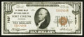 National Bank Notes:Colorado, Fort Collins, CO - $10 1929 Ty. 1 The Poudre Valley NB Ch. # 7837....