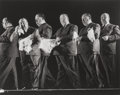 Photographs:20th Century, GJON MILI (American, 1904-1984). Alfred Hitchcock, circa1942. Gelatin silver, printed later. 10-1/8 x 13 inches (25.7 x...
