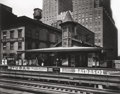Photographs, BERENICE ABBOTT (American, 1898-1991). Barclay Street Station, 1936. Gelatin silver, printed 1979. 15 x 19-1/2 inches (3...