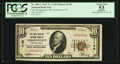 National Bank Notes:Pennsylvania, Norristown, PA - $10 1929 Ty. 1 The Montgomery NB Ch. # 1148. ...