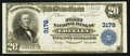 National Bank Notes:Colorado, Greeley, CO - $20 1902 Plain Back Fr. 650 The First NB Ch. # 3178....