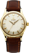 Timepieces:Wristwatch, Omega 14k Gold Vintage Automatic, circa 1963. ...