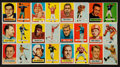 Football Cards:Sets, 1957 Topps Football Partial Set (117/154) With Unitas. ...