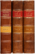 Books:Biography & Memoir, James Boswell. The Life Of Samuel Johnson, LL.D. Comprehending An Account Of His Studies And Numerous Works...The Second... (Total: 3 Items)