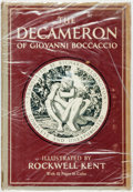 Books:Literature Pre-1900, Rockwell Kent, illustrator. SIGNED. Giovanni Boccaccio. RichardAldington, translator. The Decameron. Garden Cit...