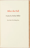 Books:Literature 1900-up, [Theatre]. Arthur Miller. SIGNED/LIMITED. After the Fall: A Play. New York: Viking Press, [1964]. First Edition. Lim...