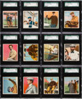 "Non-Sport Cards:Sets, 1911 T38 Union Cigar ""The Aviators"" Gold Backs SGC Complete Set(25). ..."