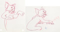Animation Art:Production Drawing, Johann Mouse Tom Cat and Jerry Mouse Animation Drawing Group(MGM, 1953).... (Total: 14 Original Art)