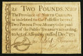 Colonial Notes:North Carolina, North Carolina December, 1771 £2 Very Fine.. ...
