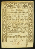 Colonial Notes:Rhode Island, Rhode Island May 1786 1s Very Fine+.. ...