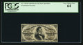 Fractional Currency:Third Issue, Fr. 1291SP 25¢ Third Issue Narrow Margin Face PCGS Very Choice New 64.. ...