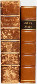 Books:Travels & Voyages, [John Cary] Cary's New Itinerary: or, An Accurate Delineation of the Great Roads Both Direct and Cross throughout Englan... (Total: 2 Items)