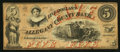 Obsoletes By State:Maryland, Cumberland, MD- The Allegany County Bank $5 Jun. 4, 1860. ...