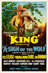 "Sign of the Wolf (Metropolitan, 1931). One Sheets (5) (27"" X 41""). ... (Total: 5 Items)"