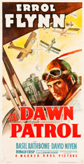 "Movie Posters:War, The Dawn Patrol (Warner Brothers, 1938). Three Sheet (41"" X 79"")....."
