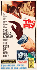 "Movie Posters:Science Fiction, The Fly (20th Century Fox, 1958). Three Sheet (41.5"" X 79"").. ..."