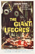 """Movie Posters:Horror, The Giant Leeches (American International, 1959). One Sheet (27"""" X 41"""").. ..."""