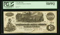 Confederate Notes:1862 Issues, Issued at San Antonio, TX T39 $100 1862.. ...