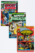 Bronze Age (1970-1979):Superhero, Marvel Monster Hero Group (Marvel, 1972-77) Condition: Average VF.... (Total: 30 Comic Books)