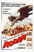 "Movie Posters:Science Fiction, Rodan! The Flying Monster (Toho/ RKO, 1957). One Sheet (27"" X41"").. ..."