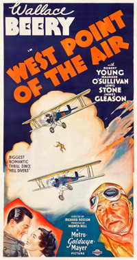 """West Point of the Air (MGM, 1935). Three Sheet (41"""" X 79"""") Style B"""