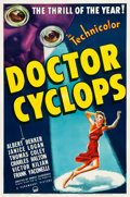 "Movie Posters:Horror, Doctor Cyclops (Paramount, 1940). One Sheet (27.25"" X 41"").. ..."