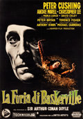 "Movie Posters:Mystery, The Hound of the Baskervilles (United Artists, 1959). Italian 2 -Foglio (39"" X 55"").. ..."
