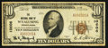 National Bank Notes:Pennsylvania, Wyalusing, PA - $10 1929 Ty. 1 The NB of Wyalusing Ch. # 10606. ...
