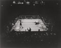 Photographs, MAX YAVNO (American, 1911-1985). Knockout, 1977. Gelatin silver. 15-3/8 x 19-1/4 inches (39.1 x 48.9 cm). Signed and edi...