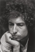 Photographs:Digital, LYNN GOLDSMITH (American, b. 1948). Bob Dylan, 1976. Inkjet.12-1/2 x 8-1/2 inches (31.8 x 21.6 cm). Signed, titled, and...