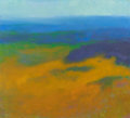 Fine Art - Painting, American:Modern  (1900 1949)  , RICHARD MAYHEW (American, b. 1924). Untitled (Earth toOcean). Oil on canvas. 36 x 39-3/4 inches (91.4 x 101.0 cm).Sign...
