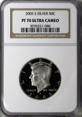 Proof Kennedy Half Dollars: , 2005-S 50C Silver PR70 Deep Cameo NGC. PCGS Population (70/0). Numismedia Wsl. Price for NGC/PCGS coin ...