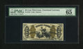 Fractional Currency:Third Issue, Fr. 1343 50c Third Issue Justice PMG Gem Uncirculated 65. Gem Justices such as this are never easy to come by. The holder is...