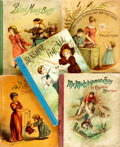 Books:Children's Books, [Children's] Group of Five Books. Boston: D. Lothrop, [1880s].Publisher's cloth-backed pictorial bindings. Rubbing and wear...(Total: 5 Items)